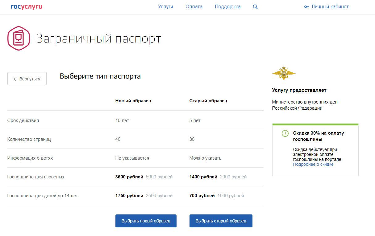 Образец анкеты на биометрический загранпаспорт нового образца